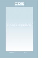 REVISTA DE DERECHO 33