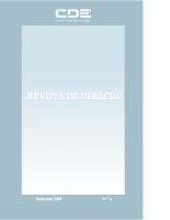 REVISTA DE DERECHO 14