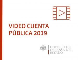 VIDEO CUENTA PÚBLICA 2019