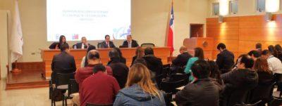 CON ALTA ASISTENCIA A.P.F. GEORGY SCHUBERT EXPONE SOBRE CONTROL DE CORRUPCIÓN EN LA REGIÓN DE BIOBÍO