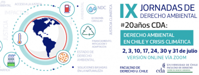 EL DERECHO AMBIENTAL Y LA CRISIS CLIMÁTICA PROTAGONIZAN LAS IX JORNADAS DE DERECHO AMBIENTAL