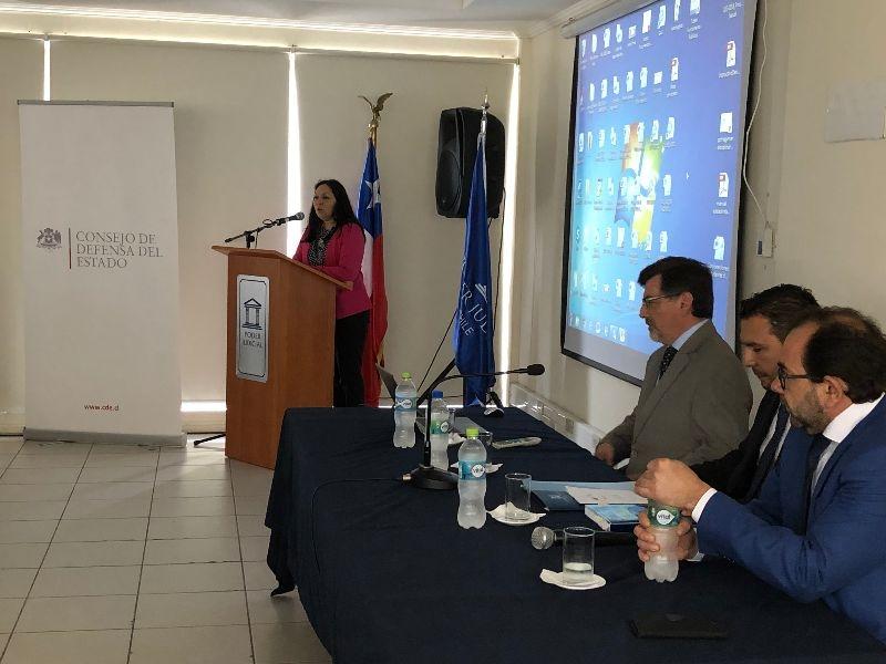 Capacitación interinstitucional en Antofagasta