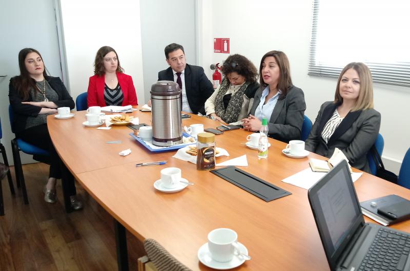 Reunión Procuraduría San Miguel y SSMS