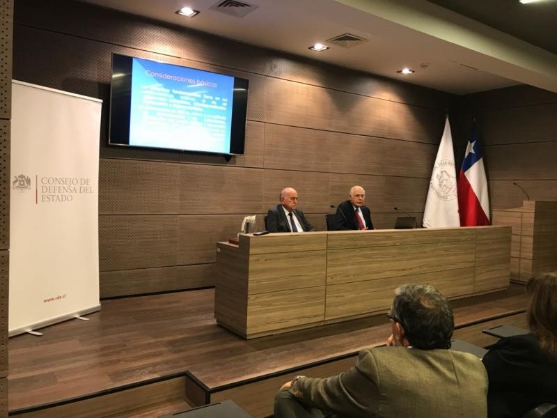 APF Carlos Bonilla y Humberto Nogueira
