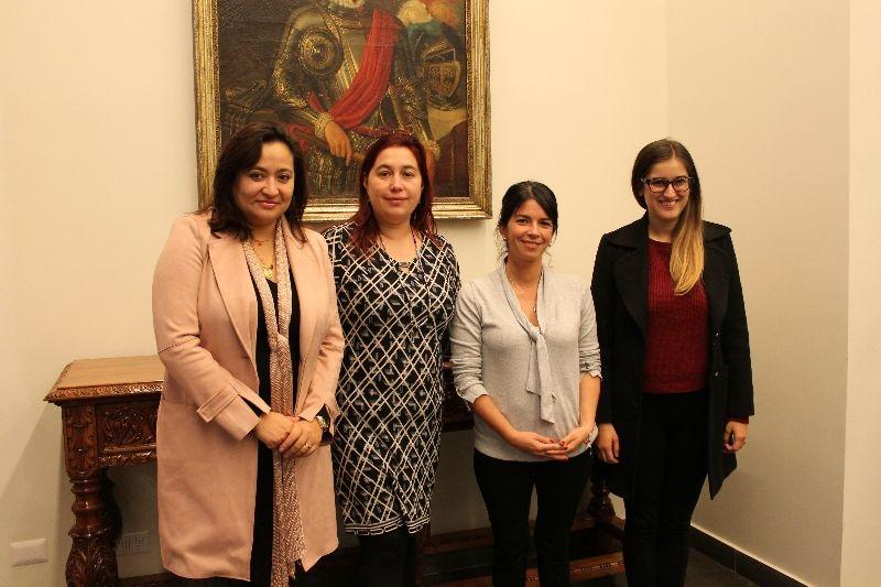 Luppy Aguirre, María Fernanda Juppet, Mariana Valenzuela, Nicole Buratovich