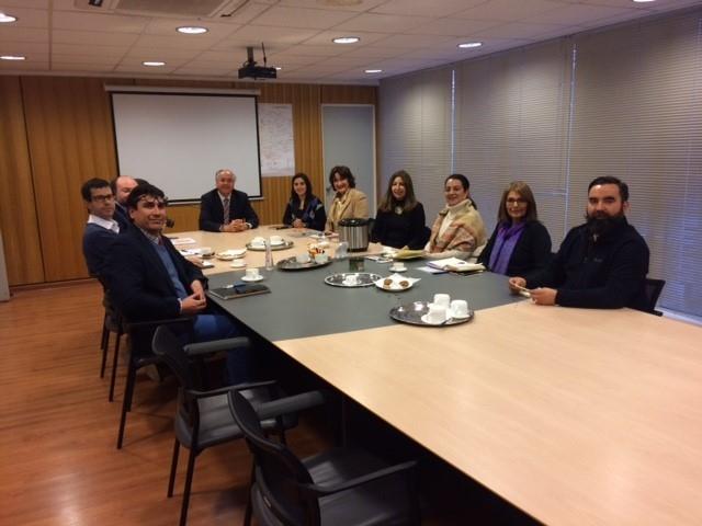 Representantes de la Procuraduría Fiscal de Rancagua y autoridades del MOP