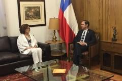 María Eugenia Manaud y Hernán Larraín