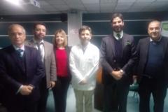 Reunión funcionarios de Procuraduría Fiscal de San Miguel y Hospital