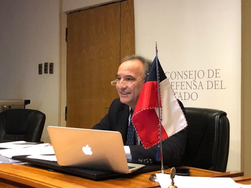 Presidente expone en seminario web organizado por la Alianza Anticorrupción