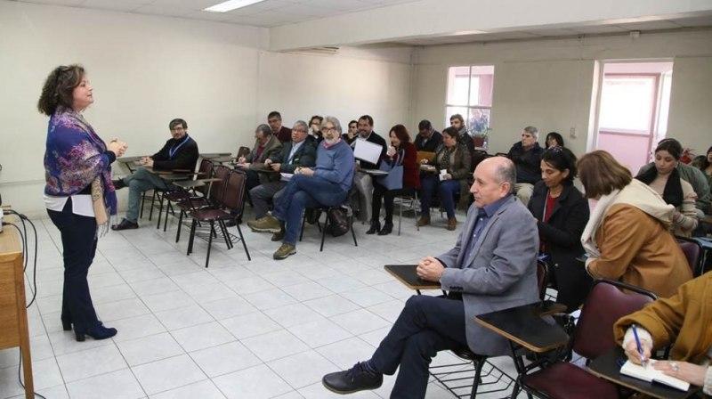 Visita de Procuraduría Fiscal de San Miguel a SSMS